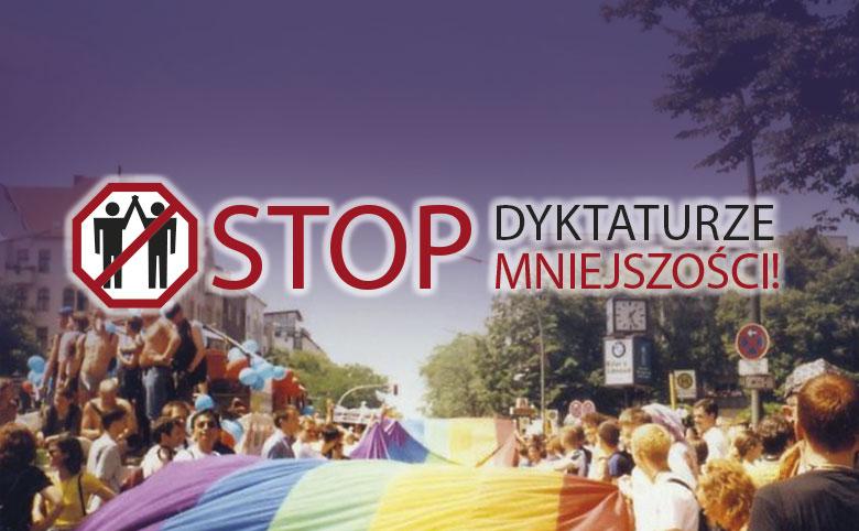 <h1 class='page-title'>Stop dyktaturze mniejszości</h1>